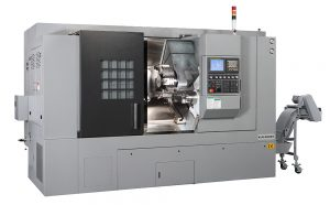 Kent CNC Sub-Spindle Horizontal Turning Center by Amerigo Machinery Co