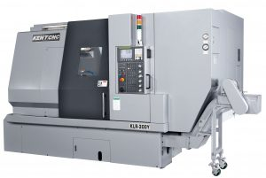 Kent CNC Mill-Turn Horizontal Turning Center by Amerigo Machinery Co