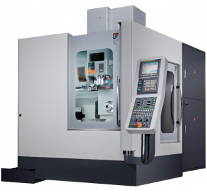 Kent CNC Horizontal Machining Center with Vertical Spindle by Amerigo Machinery Co
