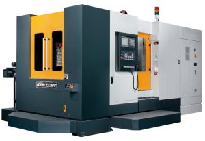 Kent CNC Horizontal Machining Center with APC by Amerigo Machinery Co