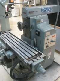 Hitachi Number 2 Horizontal Milling Machine 8