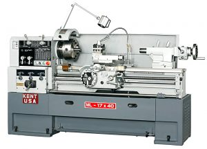 Kent USA Manual Precision Lathe by Amerigo Machinery Co