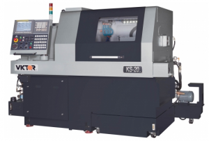 Victor KS-20 CNC Sliding Head Swiss Lathe by Amerigo Machinery Co
