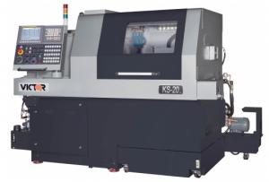 Victor KS-20 CNC Sliding Head Swiss Lathe by Amerigo Machinery Co